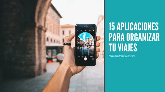 15 aplicaciones para Organizar viajea
